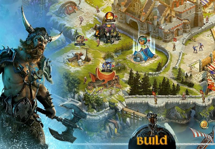 Vikings: War of Clans Android App Screenshot