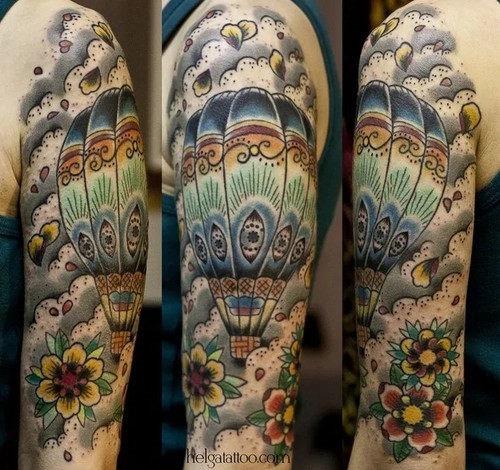 este_detalhada_de_balo_de_ar_quente_tatuagem