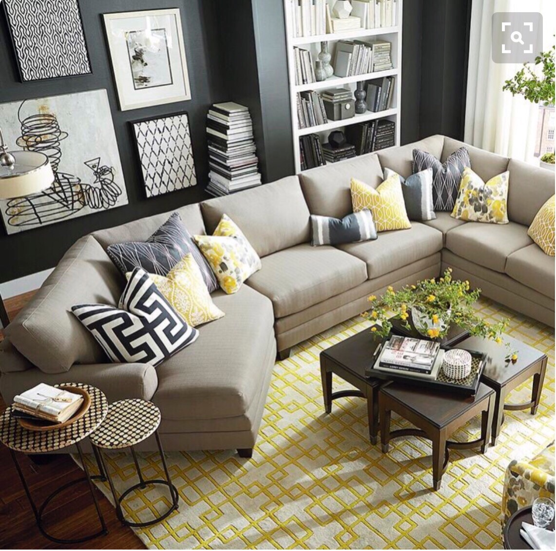 Bassett Furniture Living Room Idea