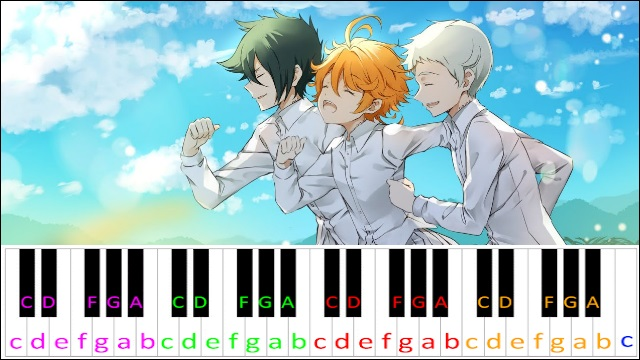 Isabella's Lullaby (The Promised Neverland) ~ Piano Letter Notes