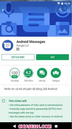 gửi tin nhắn từ máy tính đến điện thoại android