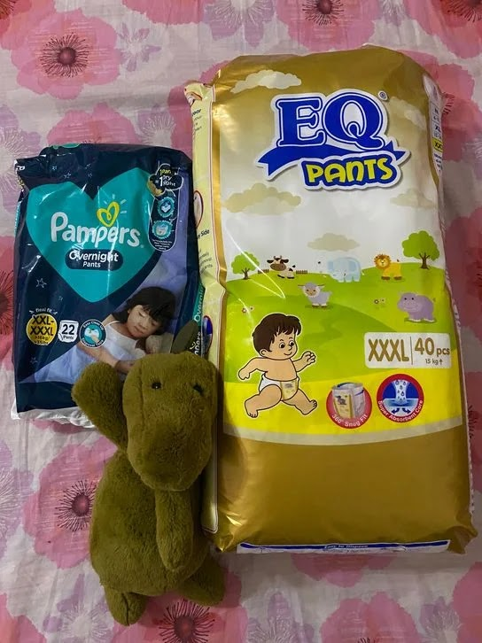 EQ Diapers Pants triple extra-large