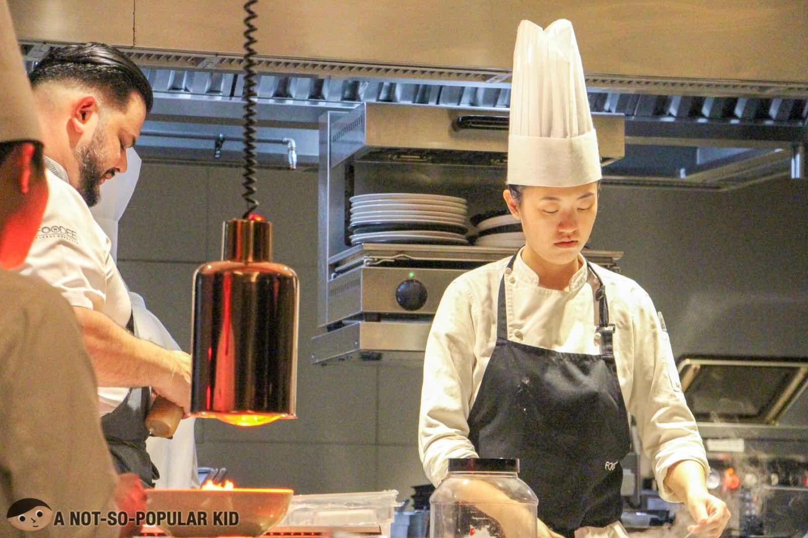 Chefs in Foo'd by Davide Oldani, Shangri-La
