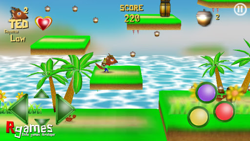 TED squirrel adventure DEMO android2mod screenshots 2