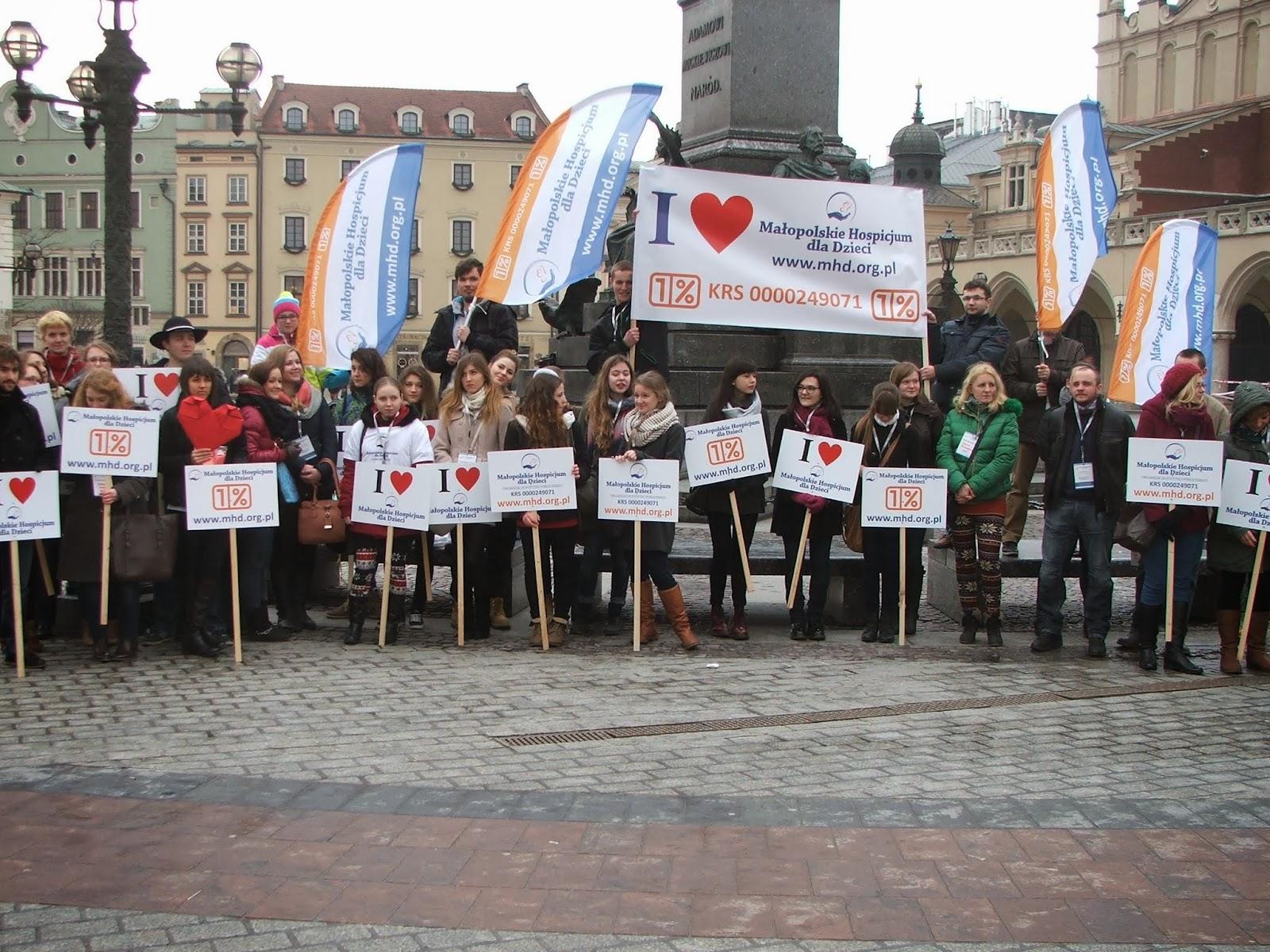 """Fotorelacja z akcji """"Serce od Hospicjum 2014"""""""
