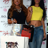 WWW.ENTSIMAGES.COM -  Abigail Clarke and Jasmin Walia   at     SO ....? With attitude event Penthouse , Leicester Square London August 15th 2013                                                Photo Mobis Photos/OIC 0203 174 1069