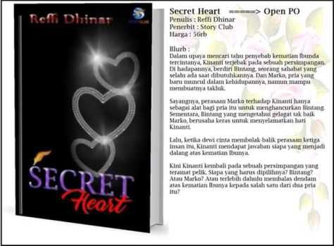 Perjalanan Novel 'Three' Menjadi 'Secret Heart'
