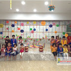 Dussehra Celebration of Playgroup Morning Section at Witty World, Chikoowadi (2017-18)