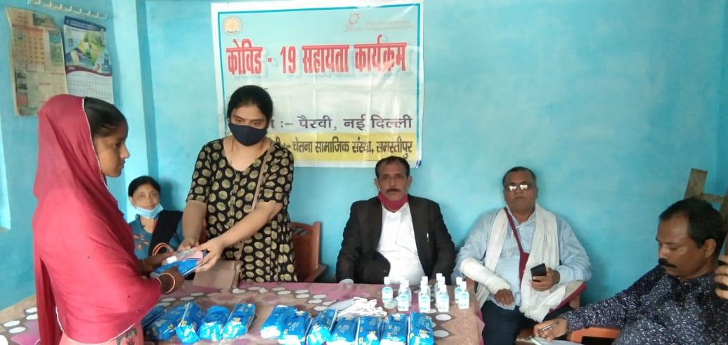 कल्याणपुर में स्वास्थ्य एवं स्वच्छता जारूकता किट वितरण कार्यक्रम आयोजित।