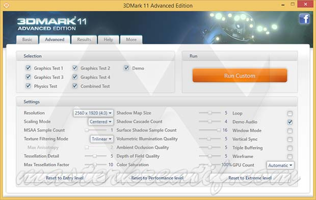 3DMark 11 Advanced Edition
