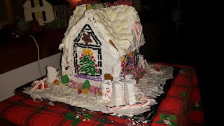 Gingerbread House homemade