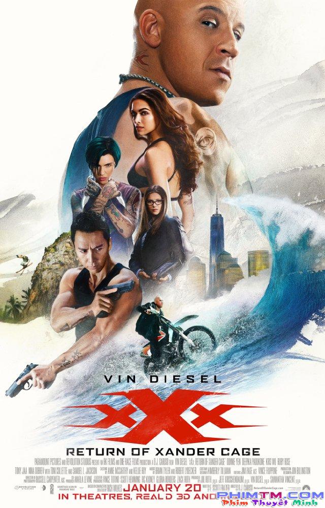 xXx: Return of Xander Cage - Phiên bản quậy phá của Fast and Furious - Ảnh 1.