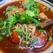 Dapur FiezaSani - Resipi Tomyam Santan Simple