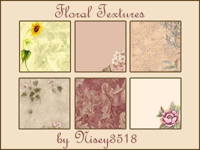 Texturas florais