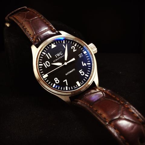 2eb0a97fcf50 GRACIE HOUR  (N A) IWC Fliegeruhr MidSize Pilot Watch