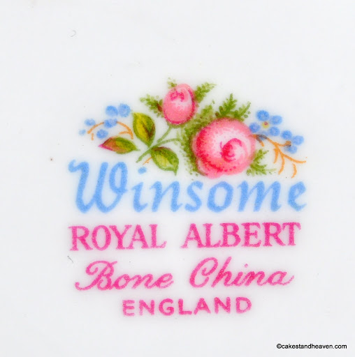 Winsome Backstamp c.1966