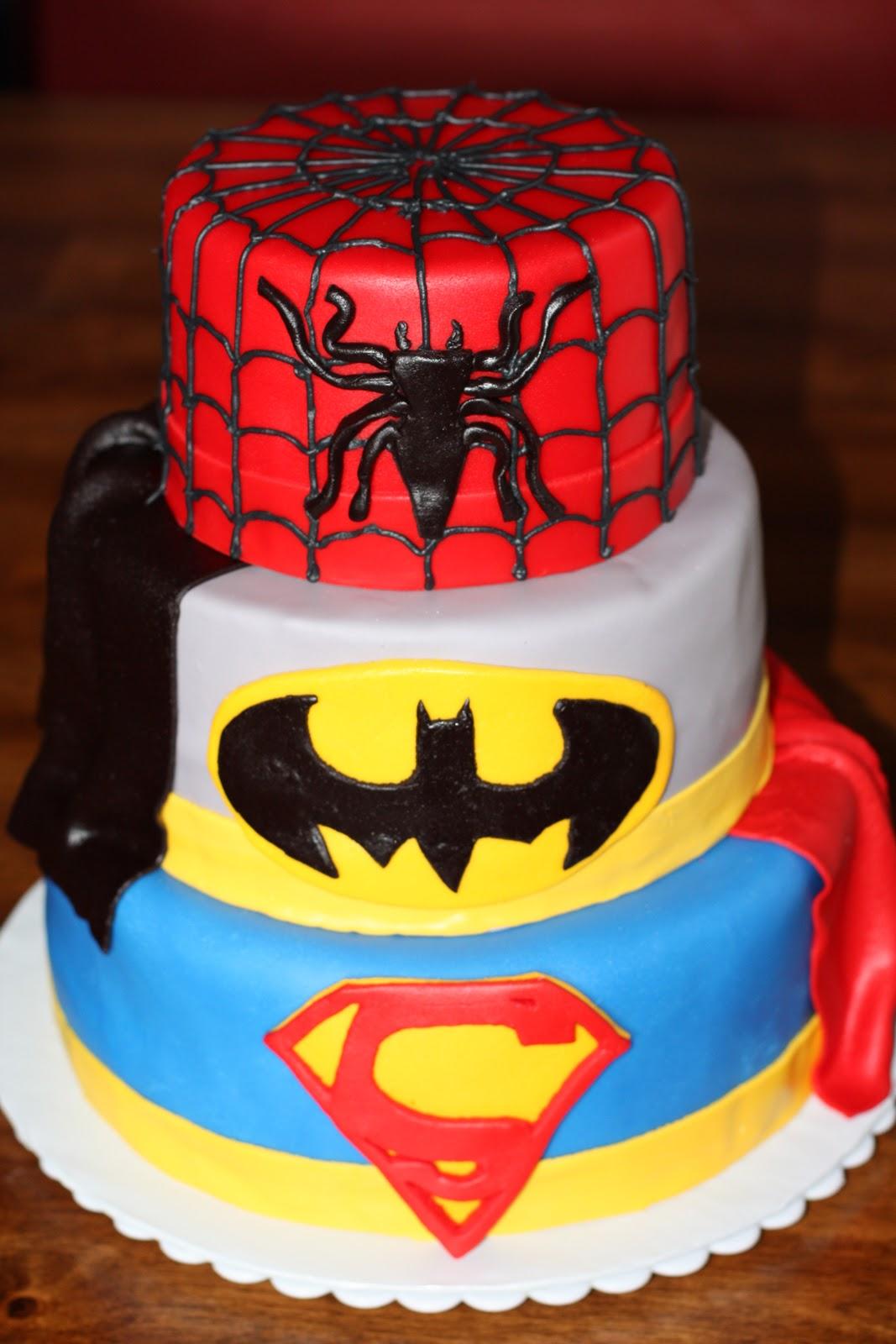 WhimsicalCreations.ca: Super Hero Squad Birthday Cake  |Superhero Cakes