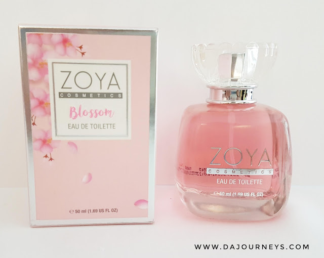 [Review] Eau De Toilette Blossom from Zoya Cosmetics