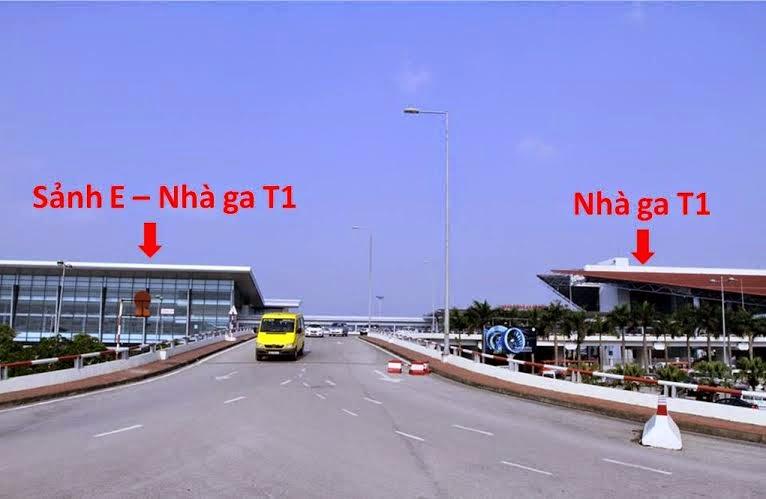Sảnh A nối Sảnh E nhà ga T1