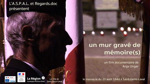 """DVD du documentaire """"Un mur gravé de mémoire(s)"""""""