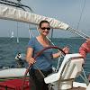 VOILE SUR ONDINE : Le 13 juin 2010 ( Bassin d'Arcachon )  avec Malibu, JC, Fred, Marine et Sophie ____________________________