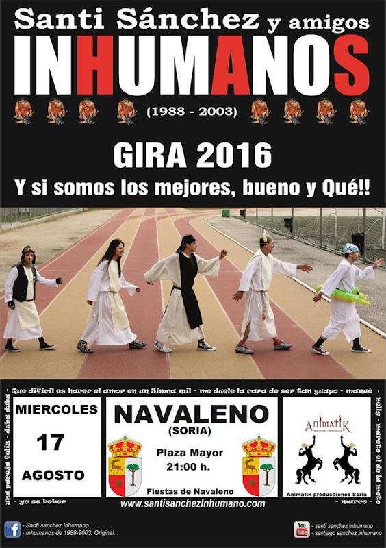 Los Inhumanos 2016