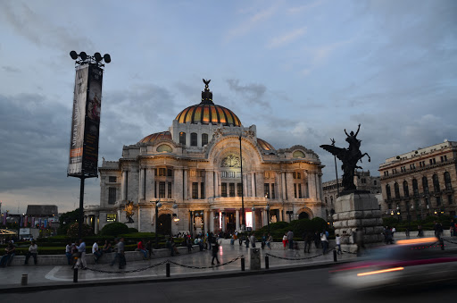 Bella des Artes, Mexico City. From  Go Eat Give combines travel, food, and volunteering