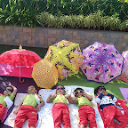 Sun Bathing Activity done by Playgroup Morning Section at Witty World, Chikoowadi (2018-2019)
