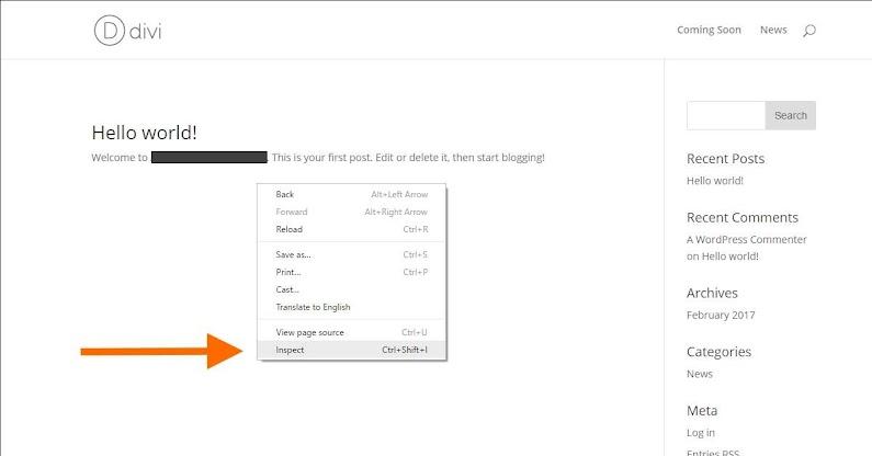 Chrome Inspect untuk lihat SSL Percuma WordPress Website Anda
