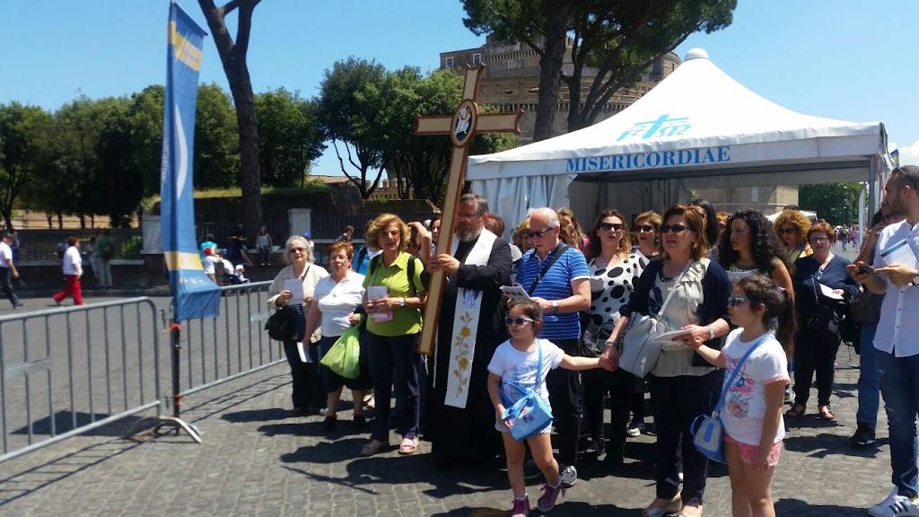 Pielgrzymi z Castellammare w Rzymie, 8 czerwca 2016 - IMG-20160608-WA0014.jpg