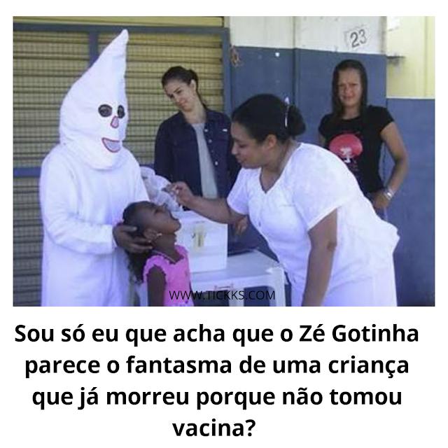 Zé Gotinha feio
