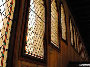 Castelul Corvinilor: vitralii
