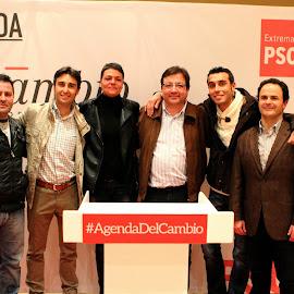 Presentación candidatos PSOE de Montijo y Barbaño