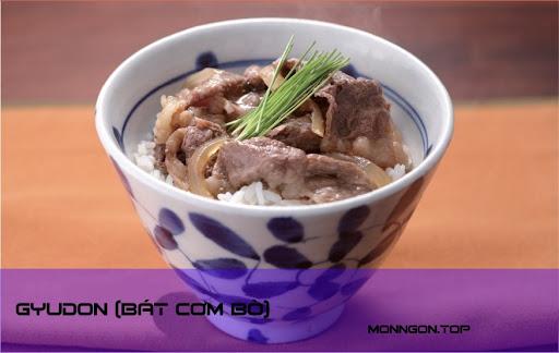 Gyudon (bát cơm bò)