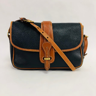 Dooney & Bourke Vintage Leather Crossbody Bag