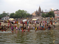 Bathing in the Ganga, Varanasi