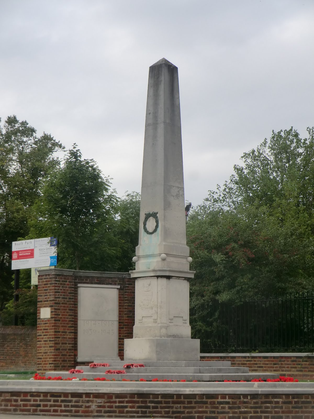 CIMG9690 War Memorial, Hampstead Heath