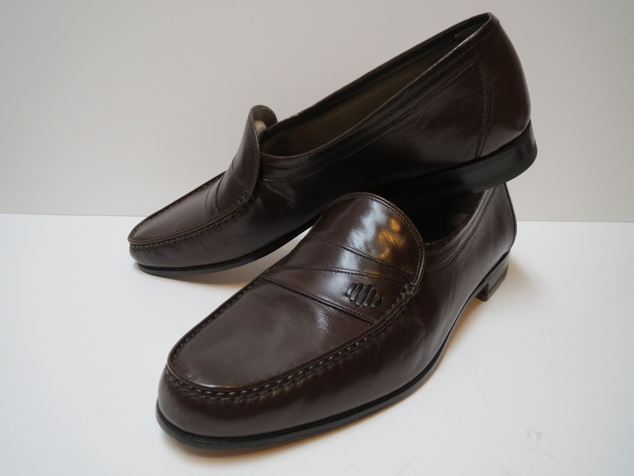 Bally Loafers in Chocolate Brown