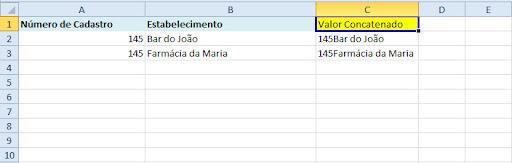 Excluindo valores duplicados ( nome ou número ) Conc