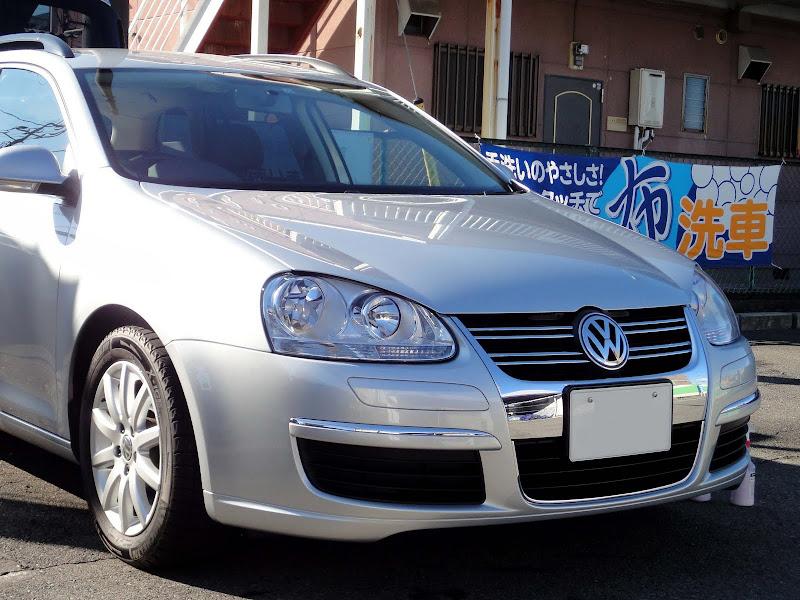 VW ゴルフ5 ヴァリアント 07y 実践報告4年目