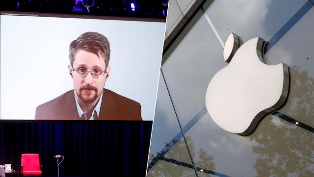 """""""Vigilancia masiva en todo el mundo"""": Snowden se une a la batalla contra el plan de Apple de escanear las fotos de los usuarios de iPhone"""