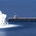 WATCH: U.S. Navy Detonates Massive Underwater Explosives Around New Aircraft Carrier