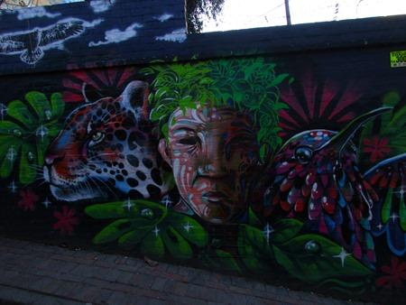 grafiti en Bogotá