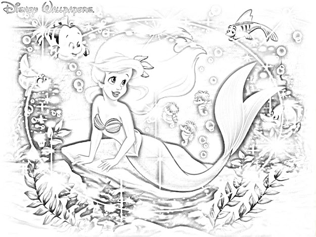 All Disney Princess Coloring Pages Games On