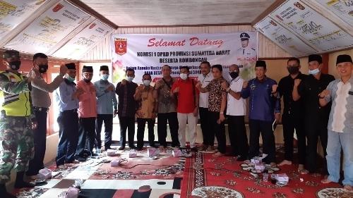 DPRD Sumbar Dukung Penuh Nagari Simasarok Jadi Desa Wisata.