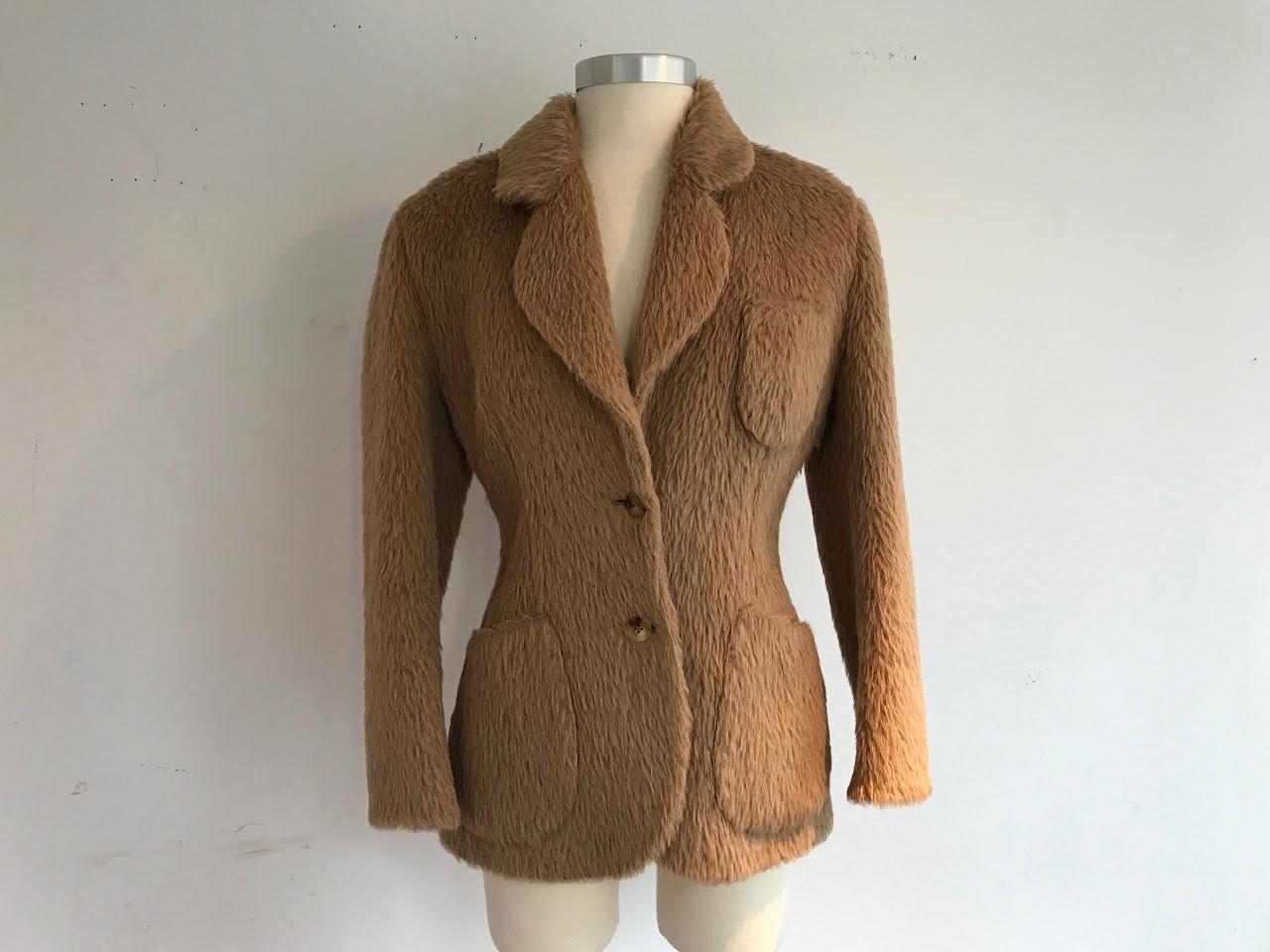 Prada Alpaca Jacket
