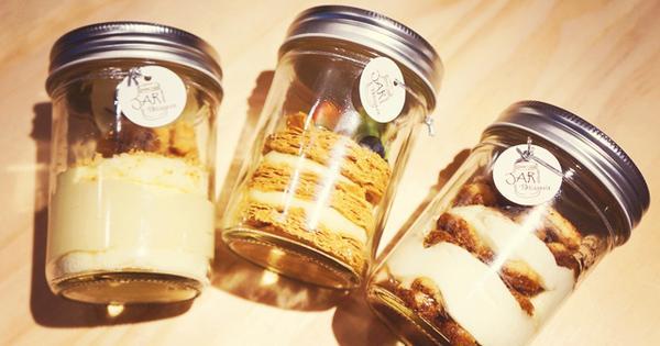 Jar Pâtisserie 瓶子甜點。療癒的甜點