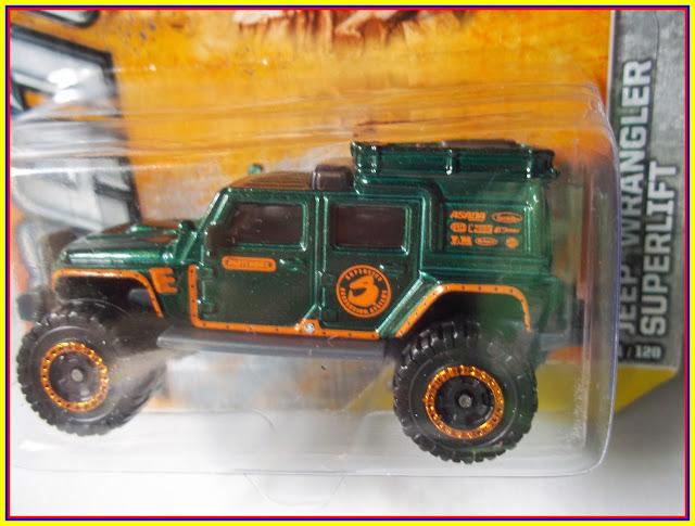 Jeep Wrangler Superlift Primera Edicion Matchbox