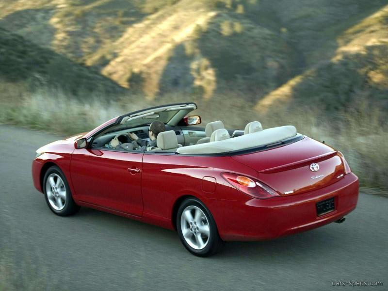 2006 toyota camry solara convertible specifications. Black Bedroom Furniture Sets. Home Design Ideas