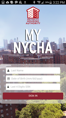My NYCHA Screenshot
